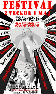 Festival affisch